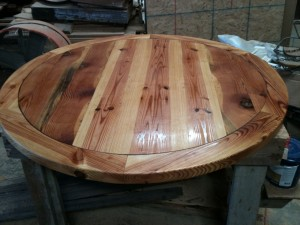 5 foot custom antique pine table