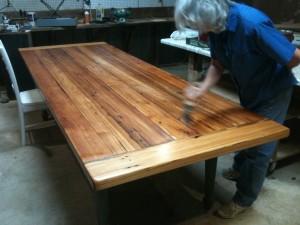 Heart Pine Table - Custom Made