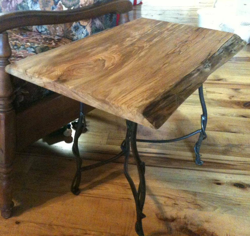Twig Iron End Table